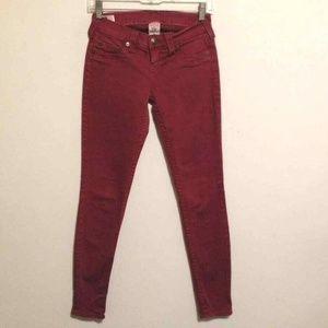 True Religion Casey Skinny Stretch Denim Jeans